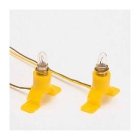 Socquets d'éclairage avec ampoules
