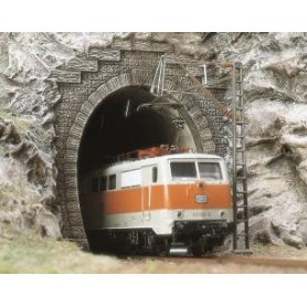 Entrée Tunnel HO Electrique - avec rebord