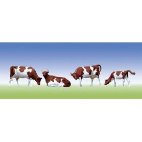 Vaches Tâchetées - HO - 1:87