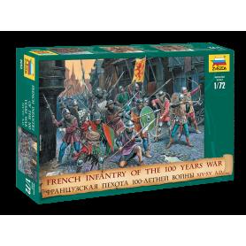 Infanterie Française - Guerre de 100 ans - 1:72