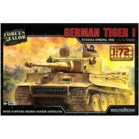 Tigre I - Force of Valor - 1:72