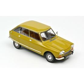 Citroën AMI 8 Club - 1969 - Jaune Bouton d'Or - 1:18