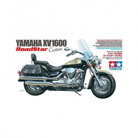 Yamaha XV1600 Road Star Custom - Tamiya - 1:12
